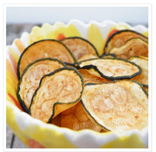 Baked Zucchini Chips (Vegan, DF, GF, Paleo)