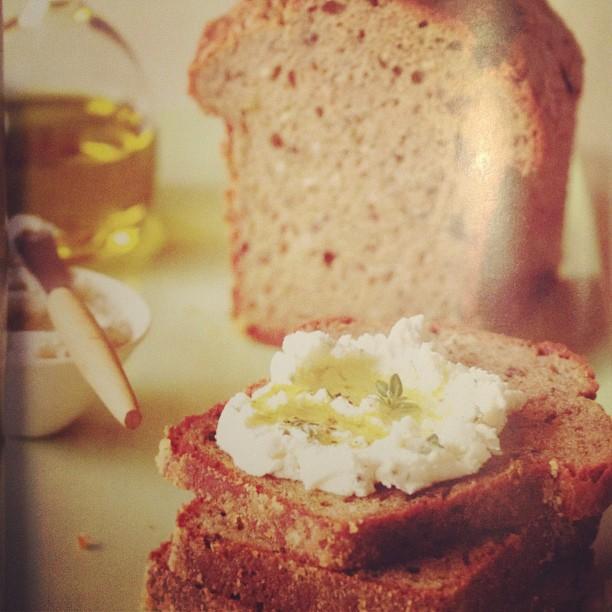 gluten free oilve-rosemary bread