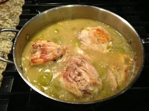 Tomatillo Chicken (gluten-free, dairy-free, Paleo)