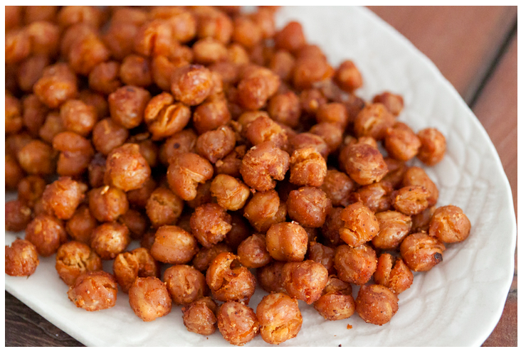 Allergy-free, paleo roasted chickpeas