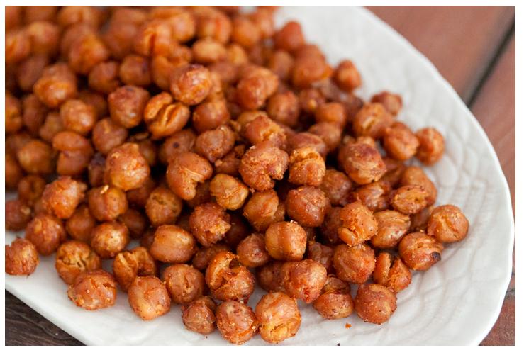 Allergy-free, paleo roasted chickpeas