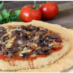 Paleo, gluten free pizza