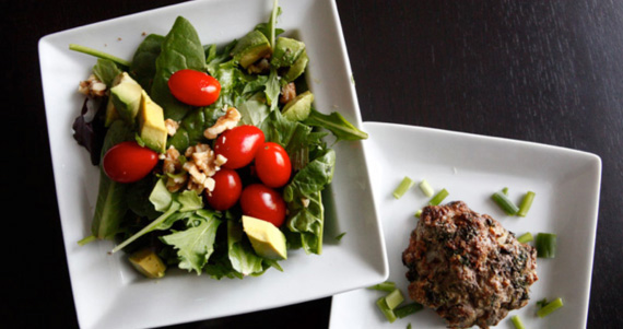 Bison Burgers and Paleo Meal Plans