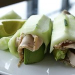 turkey cucumber roll