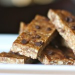Chocolate PB Granola Bars, grain free, GAPs, Paleo