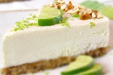 "Raw Vegan Key Lime ""Cheesecake"""