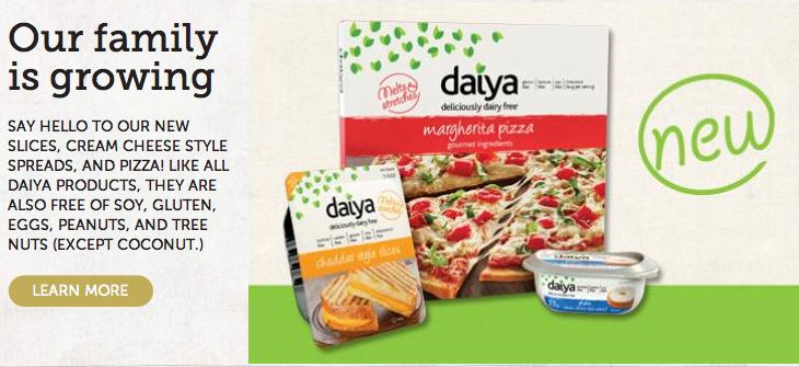 daiya cheese alternative