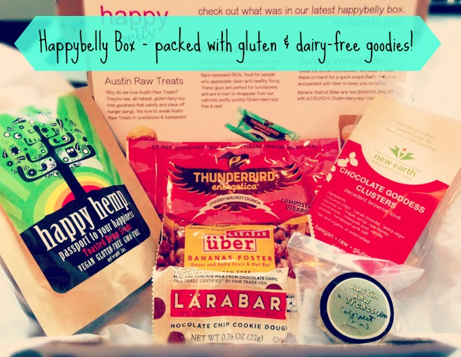 Enter for a chance to win a gluten-free Happybelly Box!