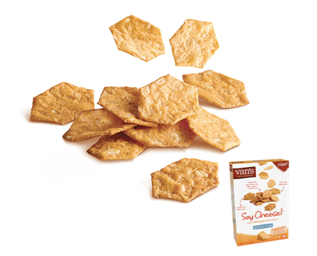 Review of Van's Gluten Free Crackers, Say Cheese!