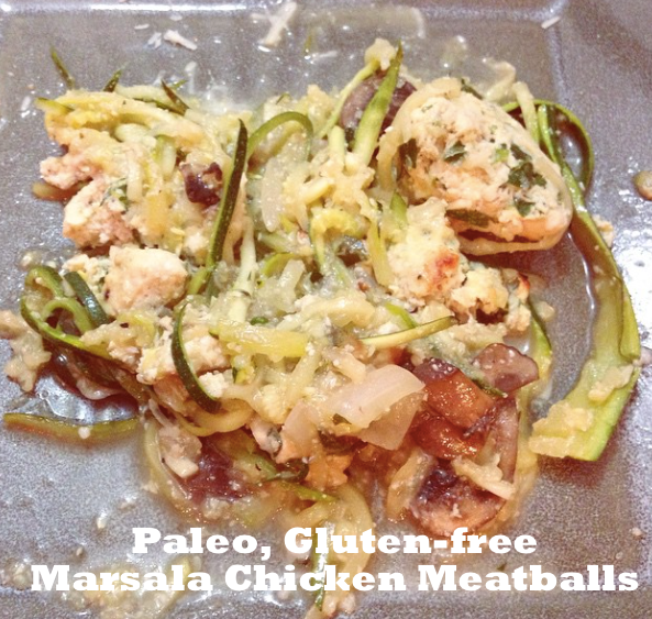 Paleo Chicken Meatballs